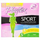 Playtex Sport Regular and Super Multipack