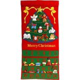 Pockets of Learning Merry Christmas Tree Advent Calendar