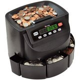 Cassida C200 Coin Sorter, Counter, and Roller