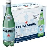 San Pellegrino 33 oz Sparkling Natural Mineral Water, 12 pack