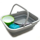Sammart Collapsible Tub with Handle