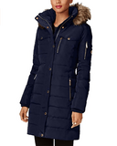 Michael Kors Down Coat With Chest Pockets