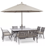 Wayland Outdoor Aluminum 8-Pc. Dining Set