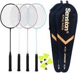 Senston 4-Racket Badminton Set