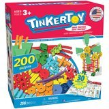 TINKERTOY Super Building Set, 200 Pieces