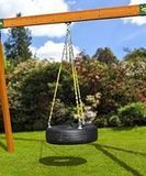 Eastern Jungle Gym Tire Swing with Chains