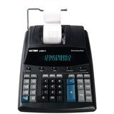 Victor 12-Digit Extra-Heavy-Duty Commercial Printing Calculator