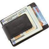 Viosi Genuine Kingston Leather Magnetic Money Clip Wallet