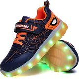 YUNICUS Kids LED Light Up Shoes with USB Charge