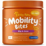 Zesty Paws Mobility Bites Hip and Joint Support, Duck-Flavored Chews