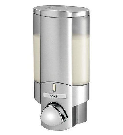 com dispenser box shampoo liquid hotel soap bottle shower origin gel mount hand silver l dinodirect apache wall chamber